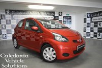 USED 2012 12 TOYOTA AYGO 1.0 VVT-I ICE 3d 68 BHP GENUINE 18,900 MILES FROM NEW WITH FULL SERVICE HISTORY ( 6 SERVICE STAMPS ). BEAUTIFUL EXAMPLE IN BARCELONA RED
