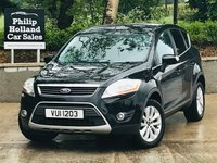 USED 2010 FORD KUGA 2.0 TITANIUM TDCI 2WD 5d 134 BHP Front / Rear parking sensors, Half leather, Bluetooth, Rear privacy glass