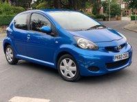 2010 TOYOTA AYGO 1.0 VVT-I BLUE 5d 67 BHP £2980.00