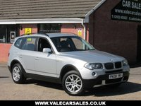 USED 2008 08 BMW X3 2.0d SE (AUTOMATIC+LEATHER / £2,075 OF EXTRAS) 5dr AUTOMATIC / LEATHER / OVER £2,000 OF EXTRAS