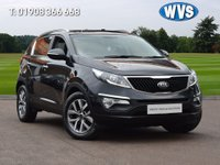 USED 2014 64 KIA SPORTAGE 1.7 CRDI 2 ISG 5d 114 BHP A well maintained (4 main dealer Kia service stamps) Kia Sportage 1.7crdi 2 isg in black, priced at just £9999.