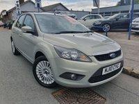 2010 FORD FOCUS 1.6 TITANIUM 5d AUTO 100 BHP £SOLD