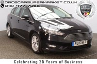 USED 2016 16 FORD FOCUS 1.5 ZETEC TDCI 5DR SAT NAV 1 OWNER 118 BHP FULL SERVICE HISTORY + SATELLITE NAVIGATION + BLUETOOTH + MULTI FUNCTION WHEEL + DAB RADIO + AIR CONDITIONING + RADIO/CD/AUX/USB + ELECTRIC WINDOWS + ELECTRIC MIRRORS + 16 INCH ALLOY WHEELS