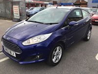 USED 2013 63 FORD FIESTA 1.2 ZETEC 3d 81 BHP Facelift model, stunning looks, 52000 miles, probably the best value fiesta in town.