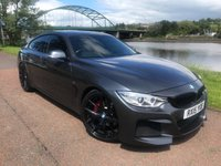 USED 2015 15 BMW 4 SERIES 3.0 435D XDRIVE M SPORT GRAN COUPE 4d AUTO 309 BHP **OVER £7000 AVR CONVERSION**