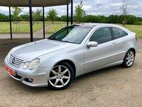2005 MERCEDES-BENZ C CLASS 2.1 C220 CDI SE SPORTS AUTO 148 BHP 3DR COUPE £2495.00