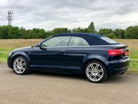 USED 2008 08 AUDI A3 1.8 TFSI S LINE 158 BHP 2DR CONVERTIBLE HALF LEATHER+ 1 OWNER+