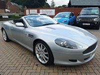USED 2006 56 ASTON MARTIN DB9 5.9 V12 VOLANTE 2d 451 BHP FULL AM HISTORY+LEATHER+SATNAV