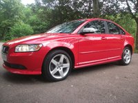 2009 VOLVO S40 2.0 SPORT D 4d FULL SERVICE HIDTORY= LEATHER=MINT CONDITION  £3850.00