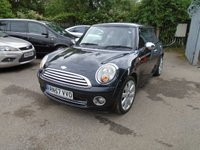 USED 2007 57 MINI HATCH COOPER 1.6 COOPER 3d 118 BHP