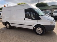 USED 2012 61 FORD TRANSIT 2.4 350 TREND MWB MED ROOF 115 BHP AIR CON