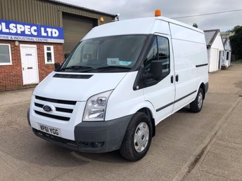 2012 FORD TRANSIT 2.4 350 TREND MWB MED ROOF 115 BHP AIR CON £4750.00