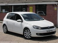 2012 VOLKSWAGEN GOLF 2.0 GT TDI (LEATHER+HEATED SEATS) 5dr £6490.00