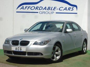 2005 BMW 5 SERIES 3.0 530D SE 4d 228 BHP £4250.00