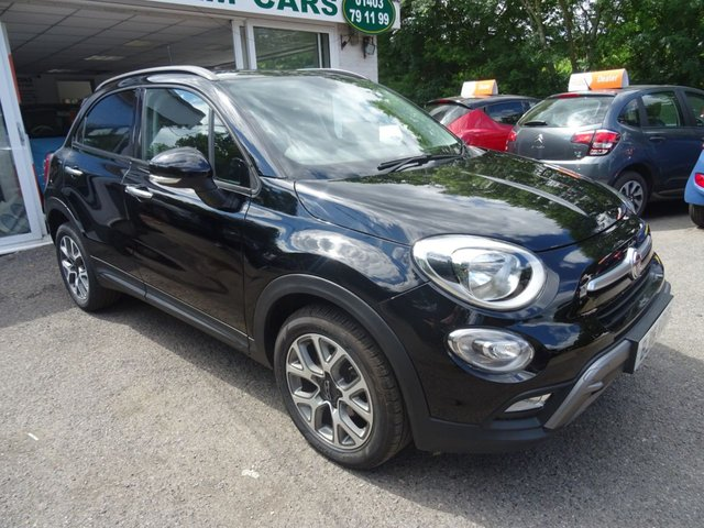 2016 16 FIAT 500X 1.6 MULTIJET CROSS 5d 120 BHP