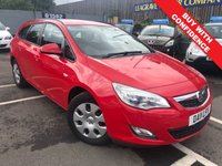USED 2011 11 VAUXHALL ASTRA 1.7 EXCLUSIV CDTI ECOFLEX 5d 108 BHP FULL MAIN DEALER  WITH SERVICE HISTORY