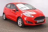USED 2016 66 FORD FIESTA 1.0 ZETEC 5DR 1 OWNER 99 BHP FULL SERVICE HISTORY + FREE 12 MONTHS ROAD TAX + SATELLITE NAVIGATION + BLUETOOTH + MULTI FUNCTION WHEEL + DAB RADIO + AIR CONDITIONING + RADIO/CD/AUX/USB + XENON HEADLIGHTS + ELECTRIC WINDOWS + ELECTRIC MIRRORS + 15 INCH ALLOY WHEELS