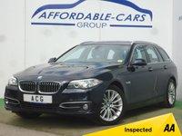 USED 2016 16 BMW 5 SERIES 3.0 530D LUXURY TOURING 5d AUTO 255 BHP