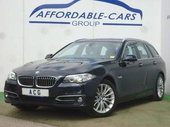 2016 BMW 5 SERIES 3.0 530D LUXURY TOURING 5d AUTO 255 BHP £16500.00