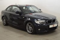 USED 2013 13 BMW 1 SERIES 2.0 118D SPORT PLUS EDITION 2d 141 BHP LOW MILES + SEVICE HISTORY + FINANCE AVAILABLE + PART EX WELCOME
