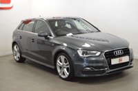 USED 2013 63 AUDI A3 2.0 TDI S LINE 5d 150 BHP 1 OWNER + AUDI SERVICES + 18 INCH ALLOYS + FINANCE AND PART EX WELCOME