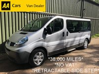 USED 2014 64 RENAULT TRAFIC 2.0 LL29 DCI 5d 115 BHP *9 SEAT*1 OWNER*NO VAT*RETRACTABLE SIDE STEP*