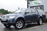 2010 MITSUBISHI L200 2.5 DI-D 4X4 WARRIOR LB DCB 1d 175 BHP.NO VAT ON THIS VEHICLE. £6995.00