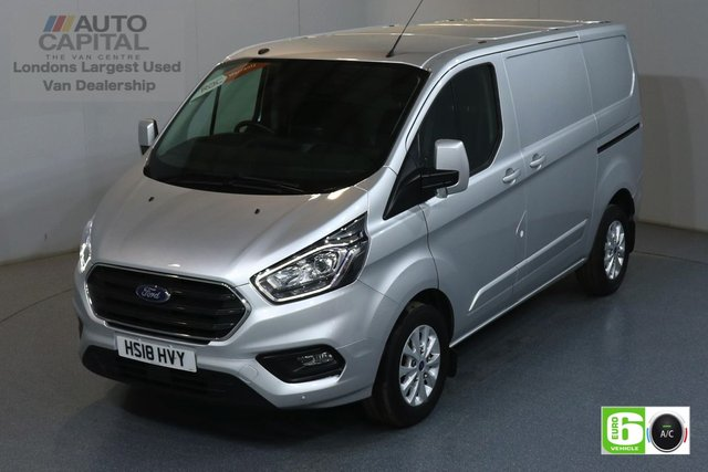 2018 18 FORD TRANSIT CUSTOM 2.0 300 LIMITED L1H1 SWB 129 BHP EURO 6 AIR CON  MANUFACTURER WARRANTY UNTIL 21/08/2021
