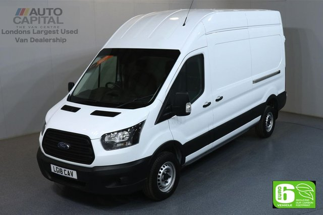 2018 18 FORD TRANSIT 2.0 350 L3 H3 LWB 129 BHP RWD EURO 6 MANUFACTURER WARRANTY UNTIL 29/05/2021