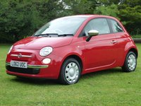 USED 2013 62 FIAT 500 1.2 POP 3d 69 BHP www.suffolkcarcentre.co.uk - Located at Reydon