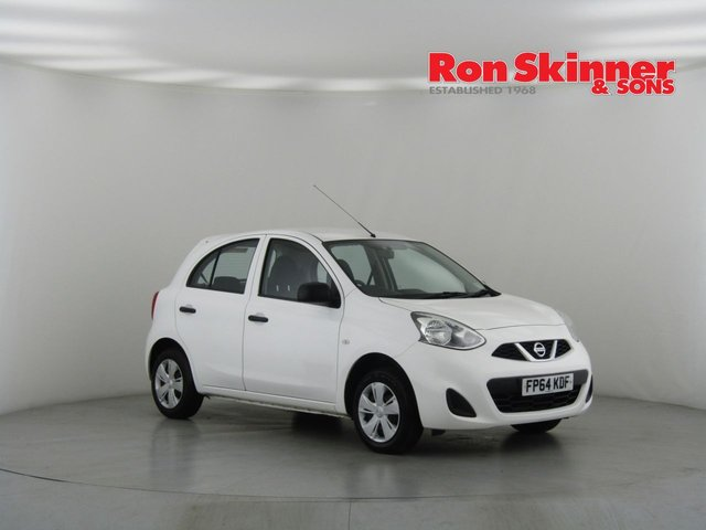 View our 2014 64 NISSAN MICRA 1.2 VISIA 5d 79 BHP