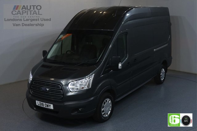 2018 18 FORD TRANSIT 2.0 350 TREND L3 H3 LWB 129 BHP RWD EURO 6 ENGINE MANUFACTURER WARRANTY UNTIL 14/05/2021