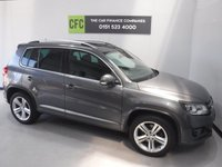 USED 2013 63 VOLKSWAGEN TIGUAN 2.0 R LINE TDI BLUEMOTION TECH 4MOTION DSG 5d AUTO 139 BHP ONE OWNER FULL DEALER HISTORY