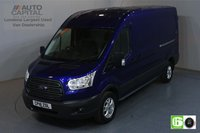 USED 2018 18 FORD TRANSIT 2.0 350 TREND L3H2 129 BHP RWD EURO 6 AIR CON MANUFACTURER WARRANTY UNTIL 18/07/2021