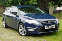 USED 2014 64 FORD MONDEO 2.0 TDCI TITANIUM X BUSINESS EDITION [140 BHP]
