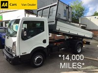 2015 NISSAN NT400 CABSTAR 2.5 DCI 35.14 MWB TIPPER 136 BHP*IMMACULATE EXAMPLE*14K* £15495.00