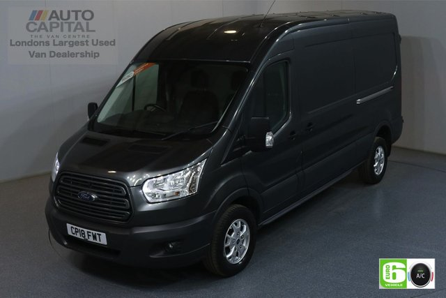 2018 18 FORD TRANSIT 2.0 350 TREND L3 H2 129 BHP EURO 6 AIR CON MANUFACTURER WARRANTY UNTIL 26/06/2021