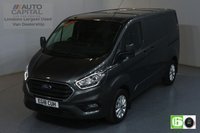USED 2018 18 FORD TRANSIT CUSTOM 2.0 300 LIMITED L1 H1 SWB 129 BHP EURO 6 AIR CON  MANUFACTURER WARRANTY UNTIL 08/08/2021