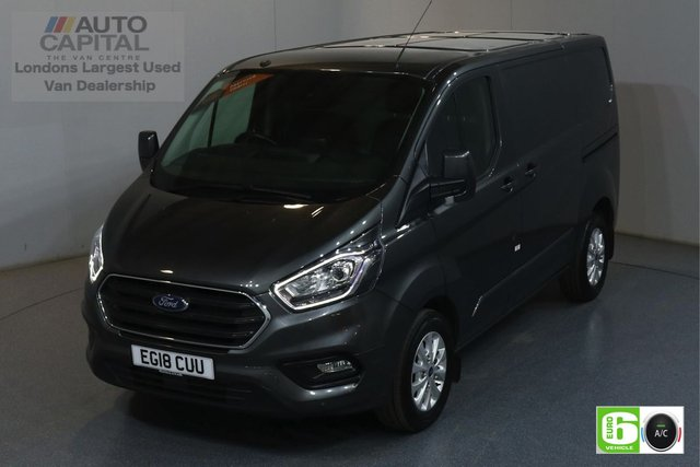 2018 18 FORD TRANSIT CUSTOM 2.0 300 LIMITED L1 H1 SWB 129 BHP EURO 6 AIR CON  MANUFACTURER WARRANTY UNTIL 08/08/2021