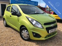 USED 2013 13 CHEVROLET SPARK 1.0 LS 5d 67 BHP Bright 5 door Petrol Manual with Low Road Tax