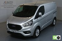 USED 2018 18 FORD TRANSIT CUSTOM 2.0 300 LIMITED L1H1 SWB 129 BHP EURO 6 AIR CON  MANUFACTURER WARRANTY UNTIL 02/08/2021