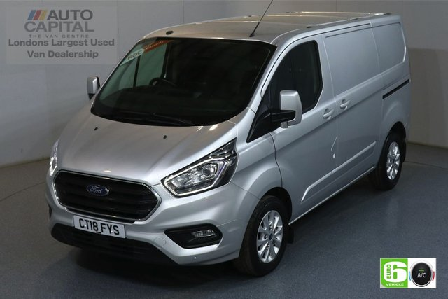 2018 18 FORD TRANSIT CUSTOM 2.0 300 LIMITED L1H1 SWB 129 BHP EURO 6 AIR CON  MANUFACTURER WARRANTY UNTIL 02/08/2021