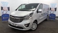 USED 2016 66 VAUXHALL VIVARO 1.6 CDTi 2900 SPORTIVE Long Wheel Base in Silver with Air Conditioning, Bluetooth, Cruise Control, Rear Parking Sensors and more **Drive Away Today** Over The Phone Low Rate Finance Available, Just Call us on 01709 866668**