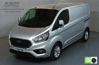 USED 2018 18 FORD TRANSIT CUSTOM 2.0 300 LIMITED L1H1 SWB 129 BHP EURO 6 AIR CON  MANUFACTURER WARRANTY UNTIL 08/08/2021