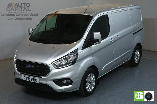 2018 18 FORD TRANSIT CUSTOM 2.0 300 LIMITED L1H1 SWB 129 BHP EURO 6 AIR CON  MANUFACTURER WARRANTY UNTIL 08/08/2021