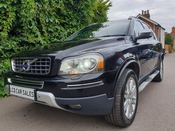 2011 VOLVO XC90 2.4 D5 EXECUTIVE AUTOMATIC AWD - FULL SERVICE HISTORY - SATELLITE NAVIGATION, REAR ENTERTAINMENT SYSTEM, ELECTRIC SUNROOF, ELECTRIC MEMORY DRIVER & PASSENGER SEATS, HEATED SEATS, XENON HEADLIGHTS £11990.00