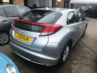 USED 2012 12 HONDA CIVIC 1.3 I-VTEC SE 5d 98 BHP