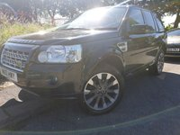 2010 LAND ROVER FREELANDER 2 2.2 TD4 SPORT LE 5d 159BHP AUTOMATIC £6790.00