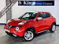 USED 2017 17 NISSAN JUKE 1.2 DiG-T N-Connecta 5dr SAVE OVER £8,000 On NEW !!! , Sat Nav, Park Camera, 11,742 Miles