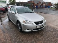 2006 LEXUS IS 2.2 220D SE 4d 175 BHP £2299.00